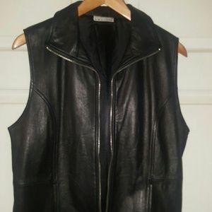 Genuine Leather Soft Vest
